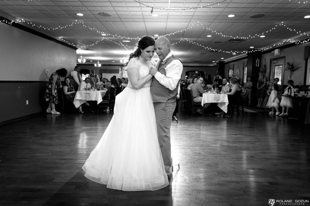 Matt and Jessicas Wedding Dance Milwaukee DJ Service