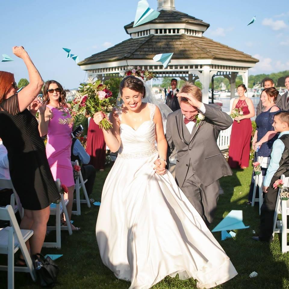 Wedding Ceremony in Lake Geneva The Abbey Resort Milwaukee underground productions DJ Service